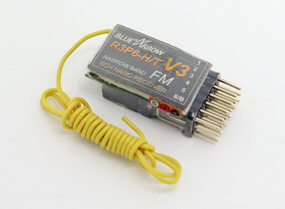 箭6CH3.9克35MHz的FM微型接收器