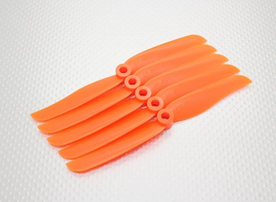 HobbyKing™螺旋桨6x3.5橙色(CCW)(5片装)