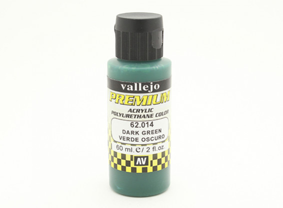 瓦列霍高级彩色亚克力漆 - 深绿色(60ml)中