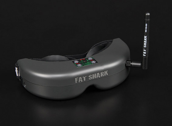 FatShark传送师V3 RTF FPV耳机系统瓦特/摄像机和5.8G TX
