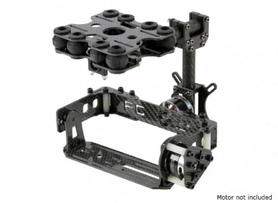 减震2轴万向无刷套件卡类型相机 - 碳纤维版本