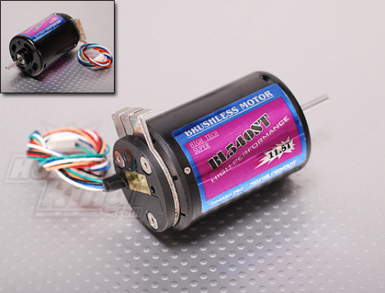 TP540-11.5T 3350kv无刷R / C车电机瓦特/传感器