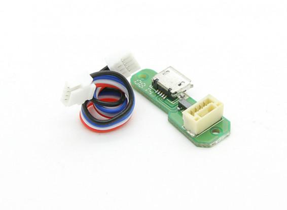 华科尔QR X350 PRO FPV GPS RC四轴飞行器 - 微型USB板