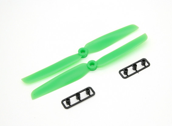 Gemfan螺旋桨6X3绿色(CW / CCW)(2个)