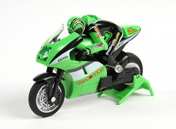 快板微运动自行车1/20比例摩托车(RTR)(绿色)