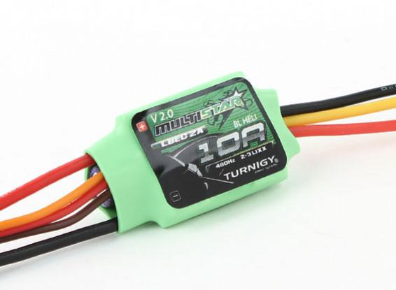 Turnigy多星10安培多旋翼飞行器无刷电调2-3S