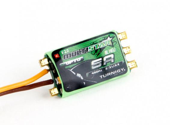Turnigy多星6A V2 ESC随着BLHeli和OPTO 2-3S