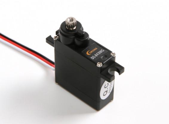 电晕DS-843MG数字高扭矩伺服微4.8公斤/ 0.10sec /8.5克