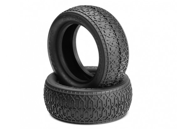 JCONCEPTS污垢织物1/10四驱越野车前胎 - 黑色(MEGA软)复合