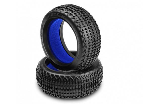 JCONCEPTS Metrix的1/8越野车轮胎 - 蓝(软)复合