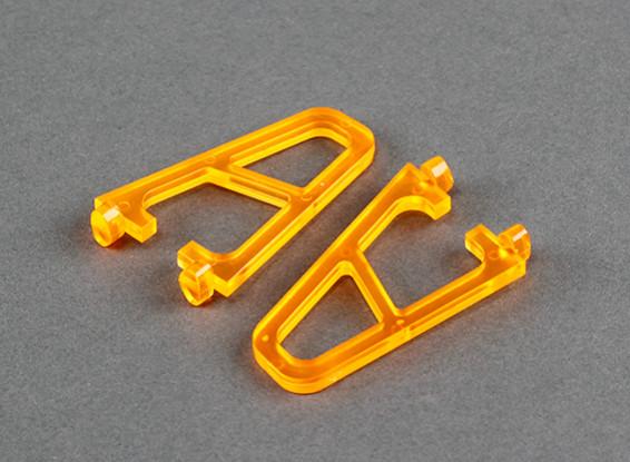 起落架为FPV250 V4鬼版橙色(2个)