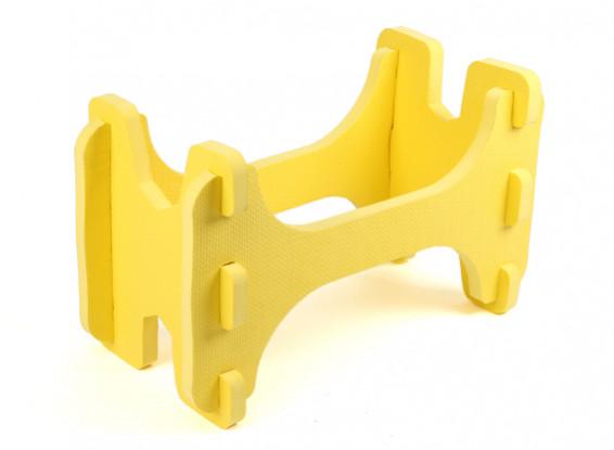 HobbyKing™轻质泡沫模型飞机架(黄色)
