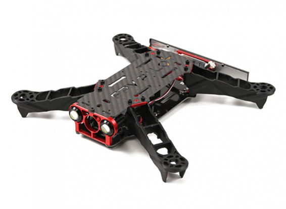 E-涡轮TB-275 FPV赛车四轴飞行器框架