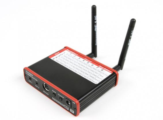 ImmersionRC DUO5800 V4.1版赛5.8GHz的40ch Raceband分集接收机双路输出