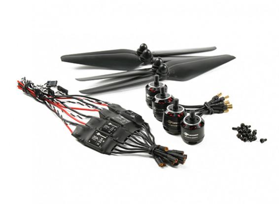 LDPOWER D300-2 Multicopter电力系统2213-920kv(9.5×4.5)(4折)