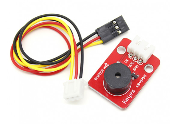 凯斯小型无源蜂鸣器模块采用3引脚杜邦线路输出