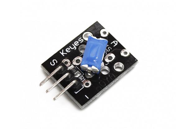 凯斯倾斜开关传感器模块的Arduino