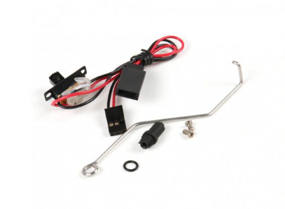 开关杆瓦特/橡胶波纹管与开关连接器组