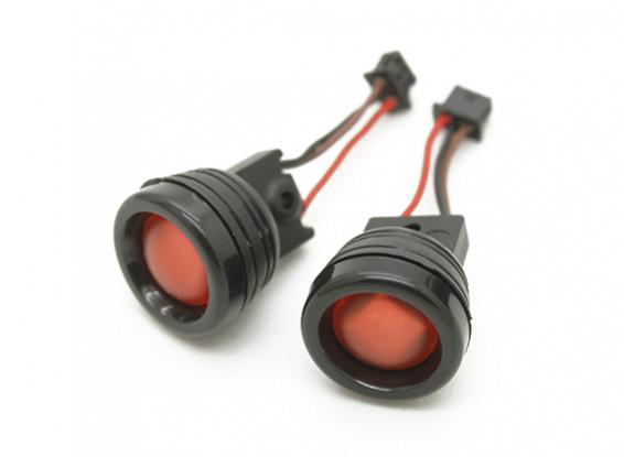 科尔亚军250(R)赛车四轴飞行器 - 红色LED灯
