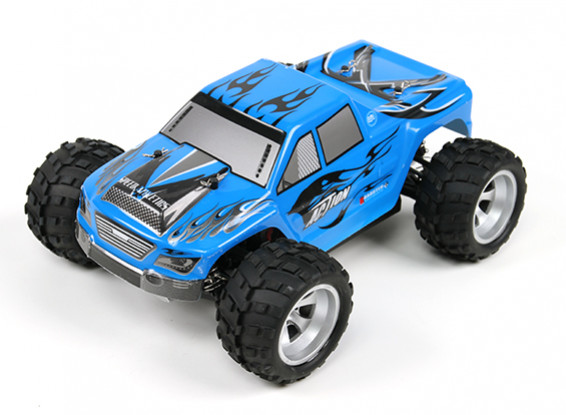 WL玩具1/18 A979 4WD涡怪物卡车W / 2.4GHz的无线电系统(RTR)