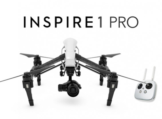 DJI启发1专业版四轴飞行器与4K摄像机和3轴万向节(RTF)