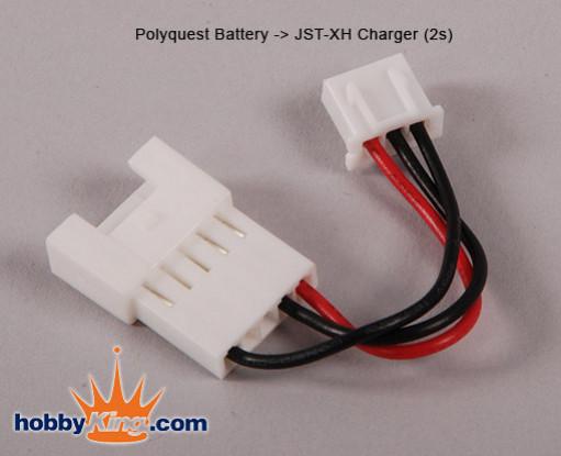 Polyquest电池 -  JST充电器2S