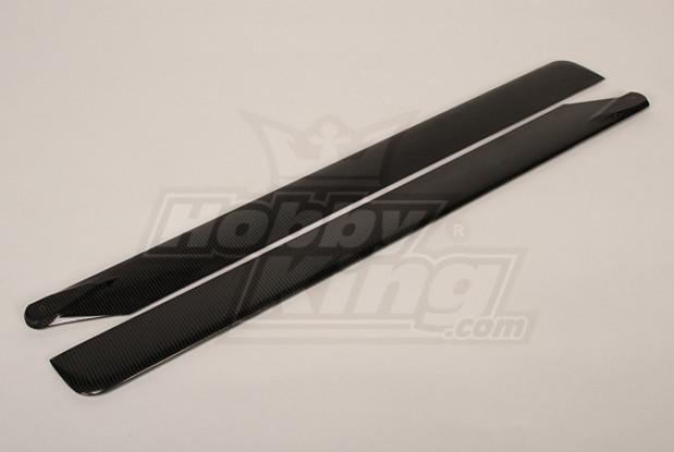 690毫米Turnigy碳纤维主叶片(1对)