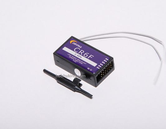 科罗纳2.4GHz的六通道接收机(FHSS)