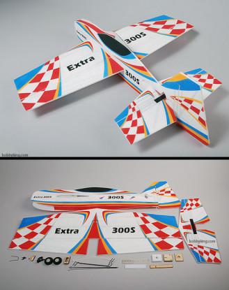 额外-300S EPP 3D航飞机模型(坚不可摧)