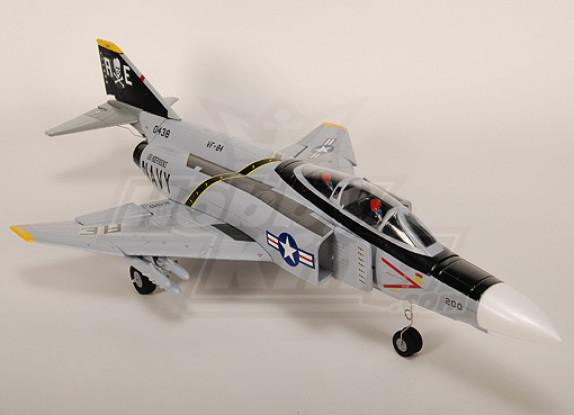 F4幻影II战斗机R / C涵道风扇喷气插件正飞