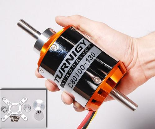 Turnigy 80-100-B 130Kv无刷外转子(EQ:70-55)