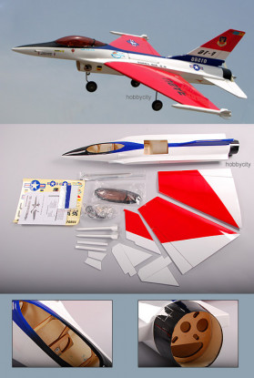 F-16C喷气式战斗机(ARF推杆)