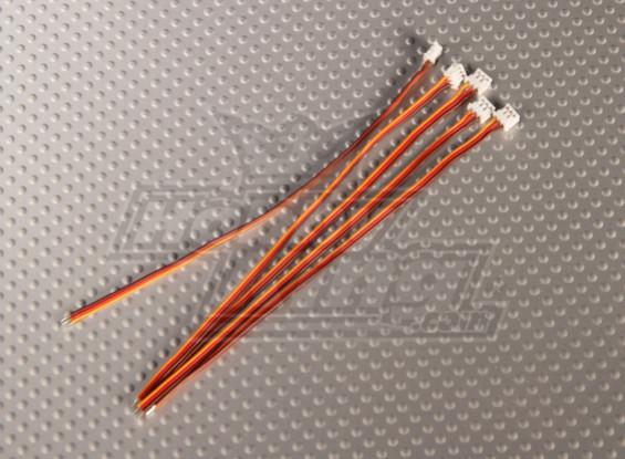 Ar6300迷你JST插头和伺服铅(5件)