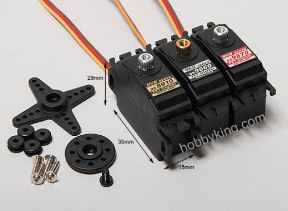 MKS DS9670精确的数字伺服2.22千克/ .09sec /27克