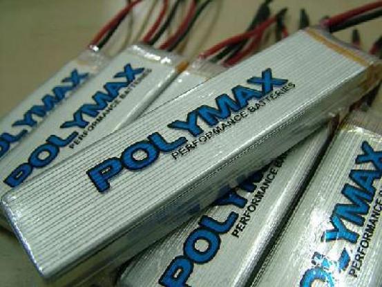 普力马3000mAh的12C 7.4V锂聚合物