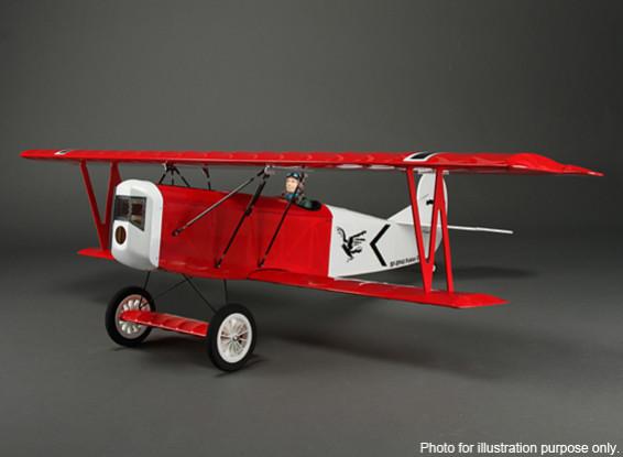 SCRATCH / DENT  - 福克D.VII第一次世界大战双翼飞机巴尔沙1200毫米(ARF)