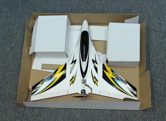 SCRATCH / DENT Parkjet 2高速永3轴飞行稳定EPO550毫米(模式2)(RTF)