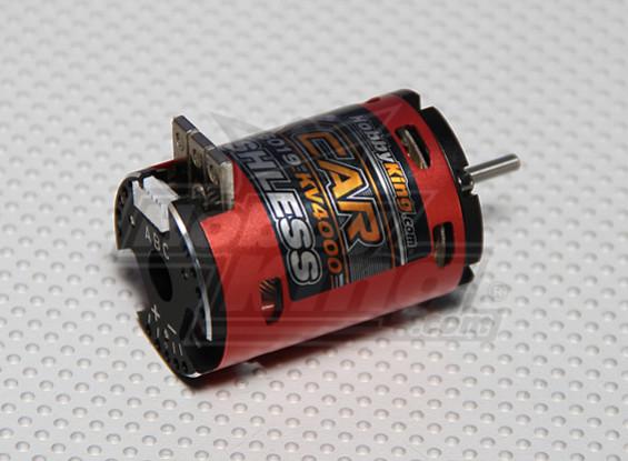 HobbyKing的X车8.5打开传感器,无刷电机(4000Kv)