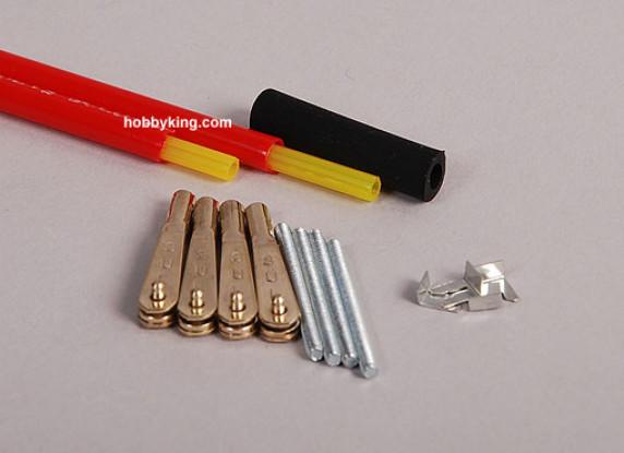 沙利文黄金-N-杆36英寸/91厘米灵活的2套