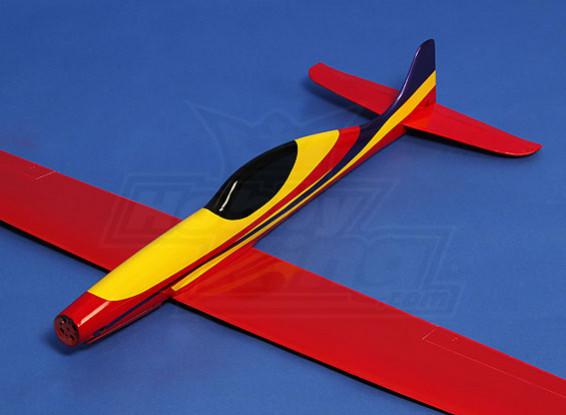 鲨鱼高性能赛车/滑翔机1228毫米复合(ARF)
