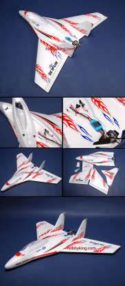 SkyFun喷气W /无刷电机插头 - & - 飞