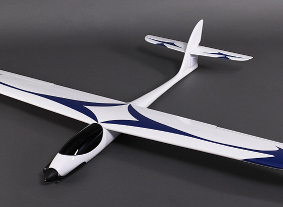 GL-快速玻璃纤维滑翔机1600毫米W /电机/ ESC /伺服(PNF)