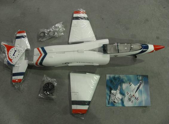 SCRATCH / DENT T-38猛禽650毫米EDF喷射(AUS仓库)