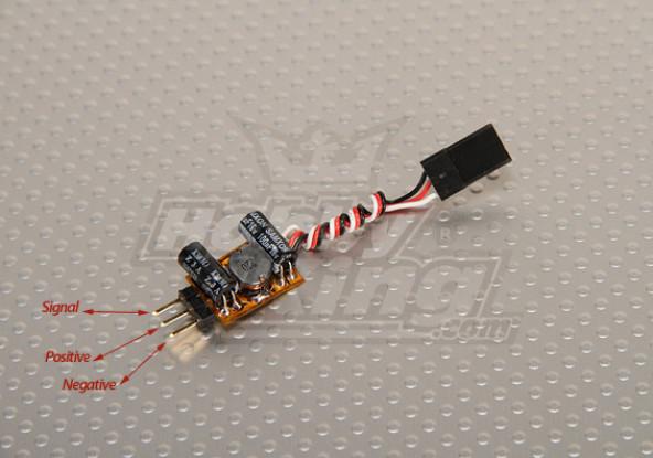 TURNIGY电压助推器伺服和接收(1S至5V 1A)
