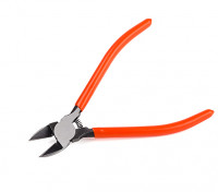 Precision Side Cutters Spring Loaded 170mm w/ Plastic Dipped Handles