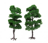 HobbyKing™ 200mm Scenic Wire Model Trees with Roots (2 pcs)