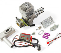 RCGF 35cc Side Exhaust Gas Engine w/CD Ignition 4.2HP@9000rpm