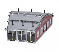 Roco/Fleischmann HO Scale Locomotive Roundhouse Shed Kit