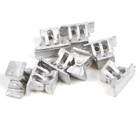 Micro Engineering HO Scale Bridge Shoes 8pcs (80-034)