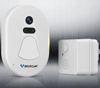 VStarcam D1 HD Security Door Camera Doorbell Night Vision with Wifi